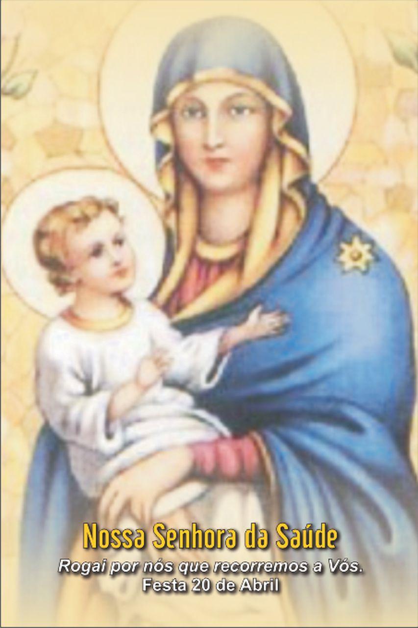Santinhos de Nossa Senhora da Saúde - Milheiro  - Ruah Artigos Católicos
