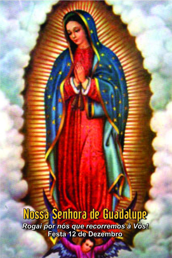 Santinhos de Nossa Senhora de Guadalupe - Milheiro  - Ruah Artigos Católicos