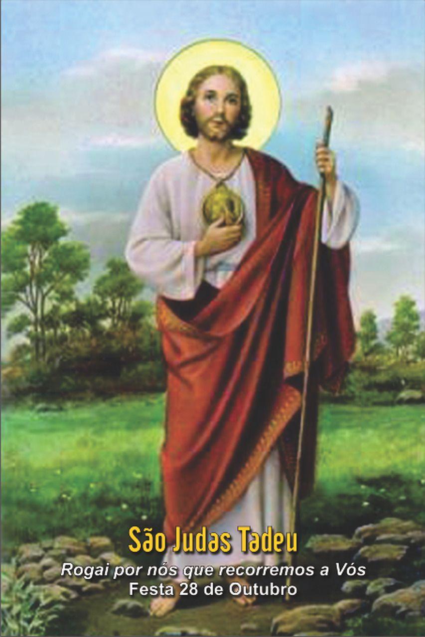 Santinhos de São Judas Tadeu - Milheiro  - Ruah Artigos Católicos