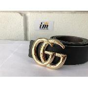 Cinto Gucci Dourado Com Detalhes Blogueiras