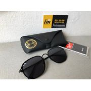 Oculos De Sol Ray Ban Hexagonal Blaze Preto Rb3579 Unissex