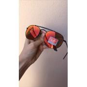 Oculos Sol Marshal Preto Espelhado Replica Primeira Linha