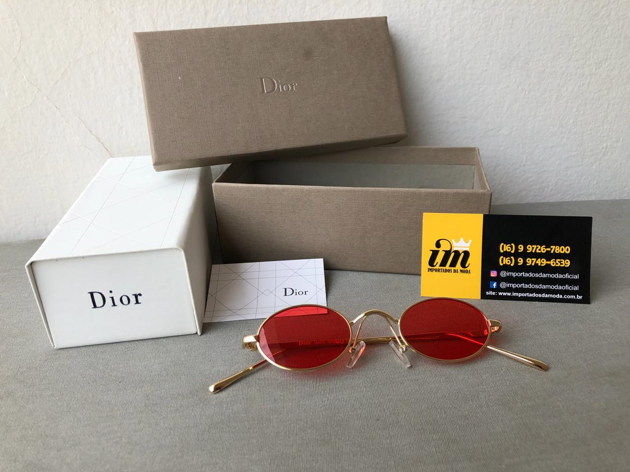 Dior D8035 OMS CUTIE Vintage Vermelho