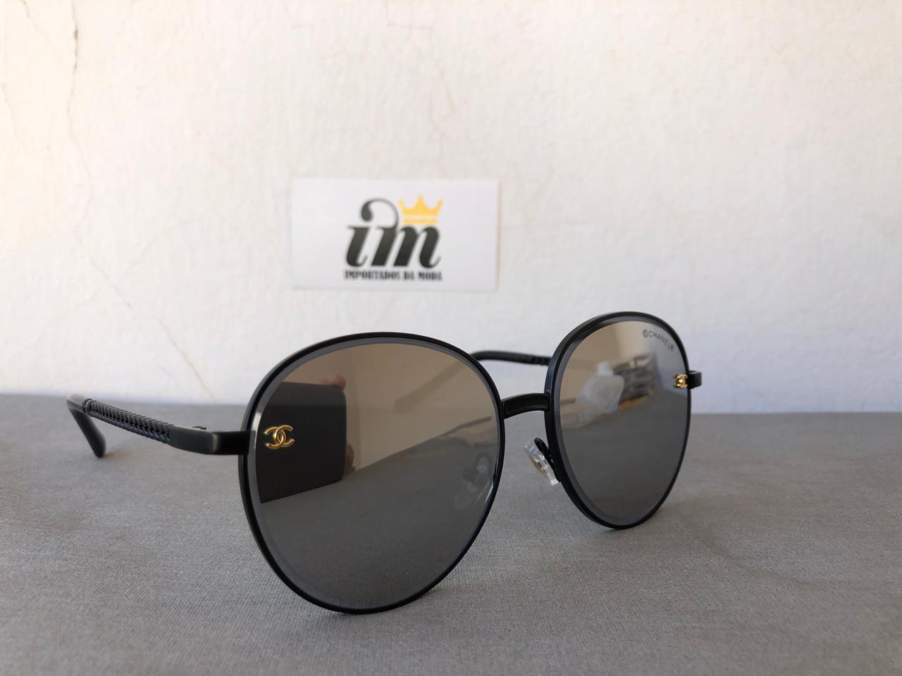 Oculos de Sol Feminino Redondo Replica