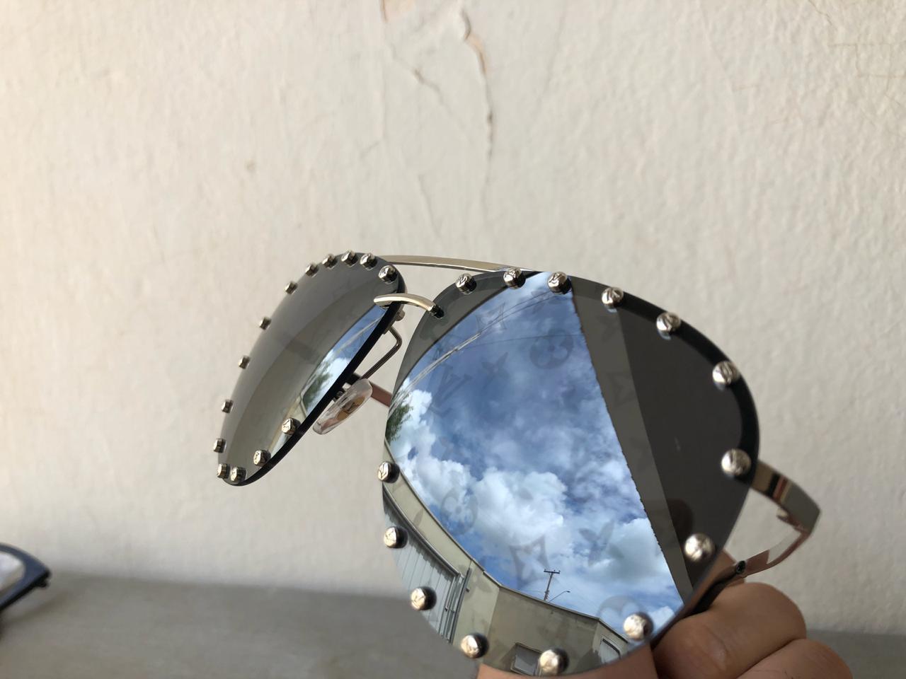 Óculos de Sol Louis Vuitton The Party Replica Primeira Linha