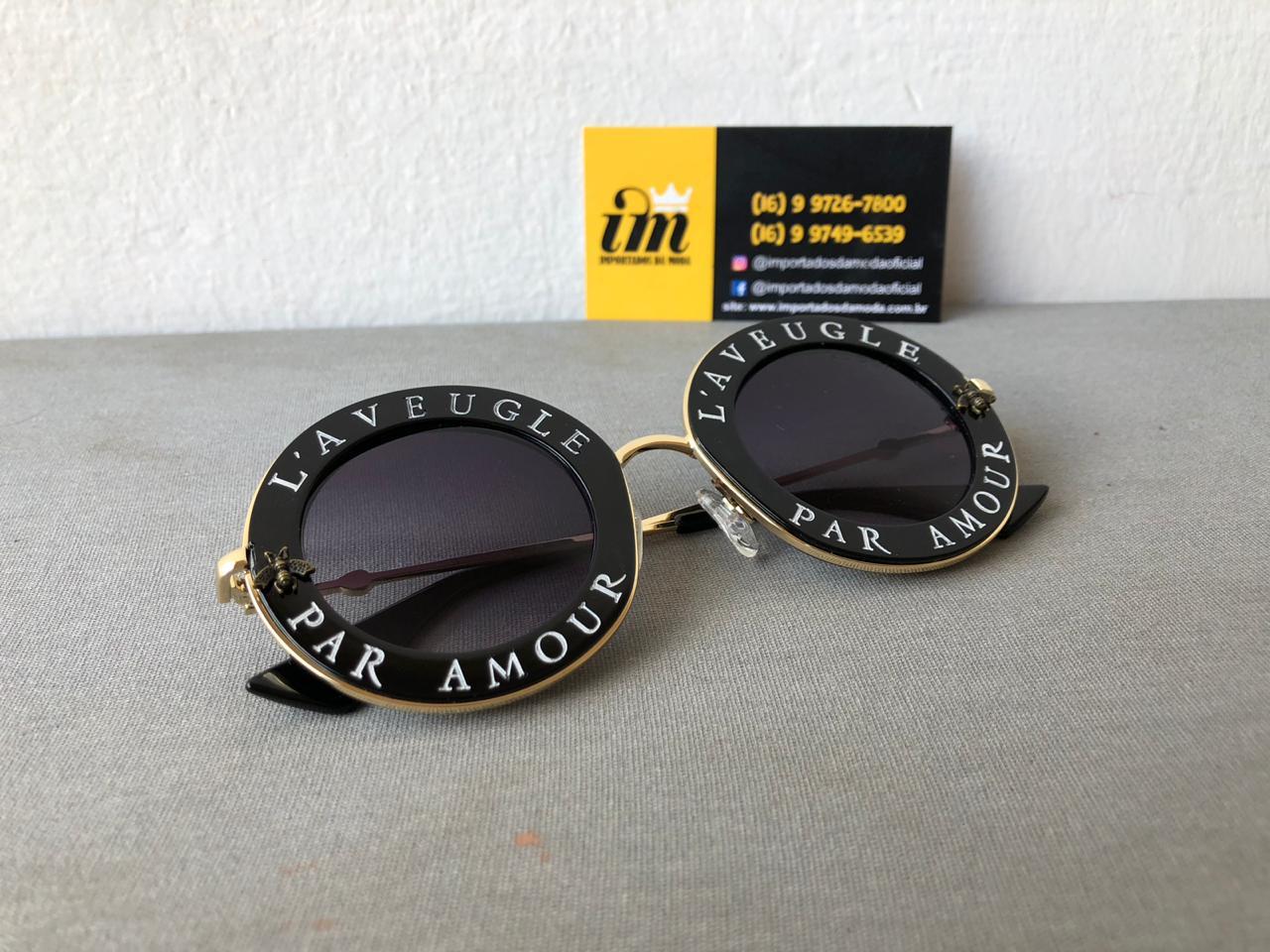 Óculos de Sol Gucci L Aveugle Réplica Primeira Linha