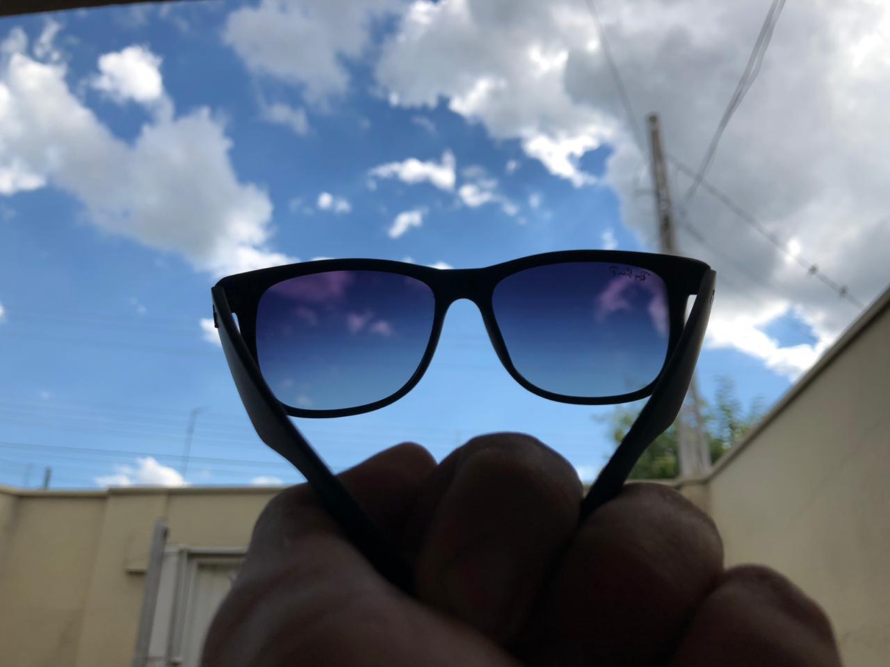Óculos De Sol Masculino Ray Ban Justin Rb4165 Degrade - Polarizado 0d4190b202