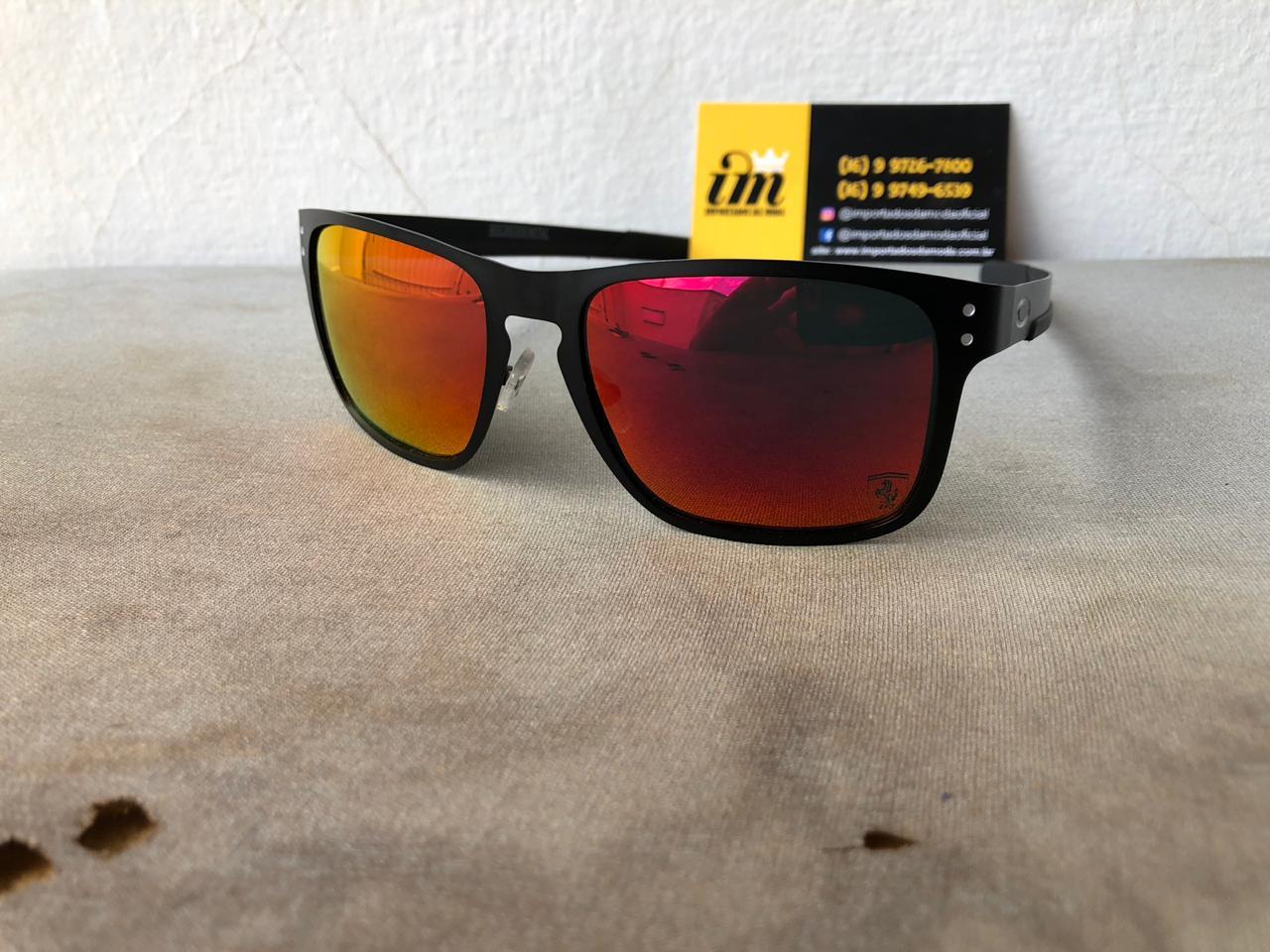 Oculos De Sol Oakley Holbrook Metal