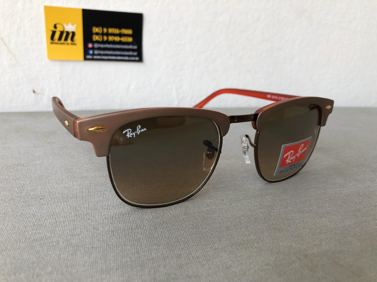 Oculos De Sol Ray Ban Clubmaster RB301