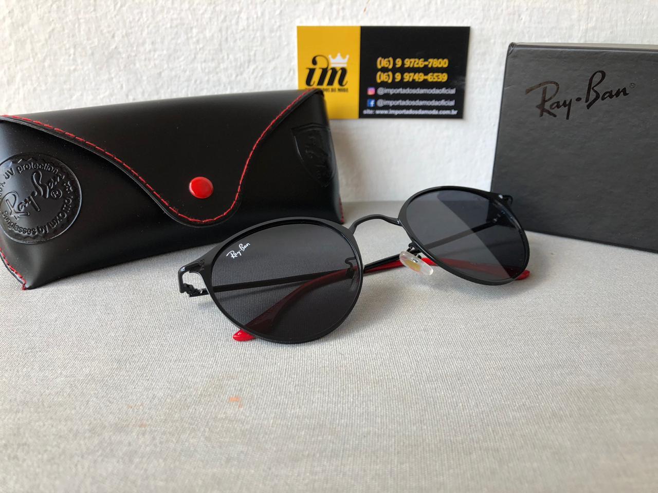 Óculos de Sol Ray Ban Ferrari Réplica Primeira Linha