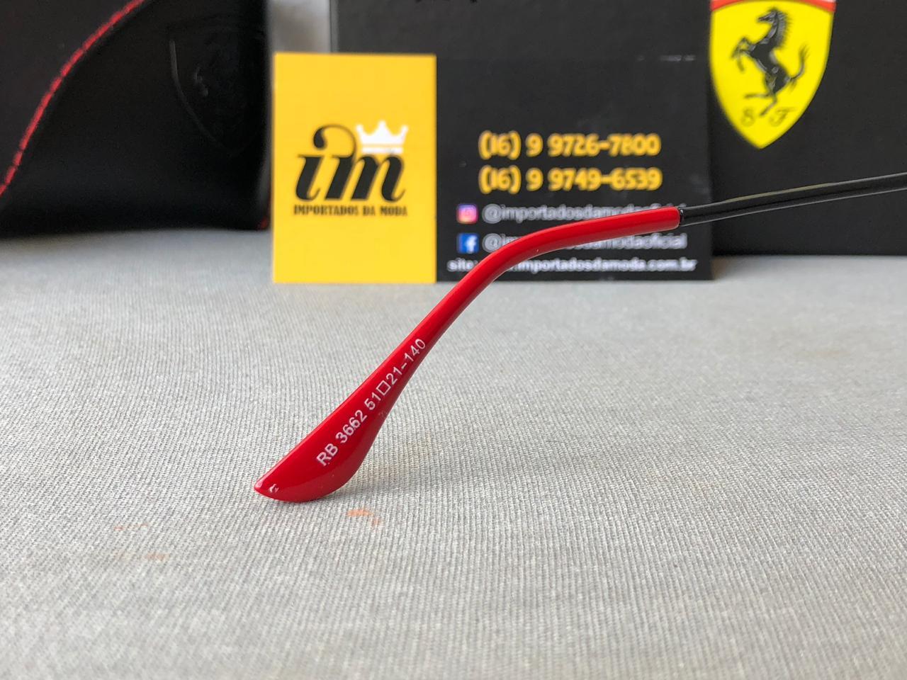 Oculos de Sol Ray Ban Ferrari Edicao Limitada RB3662