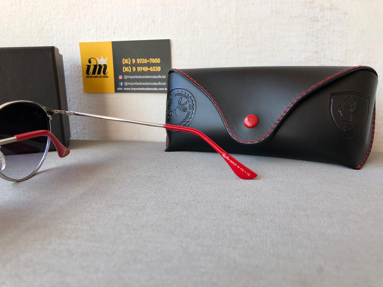 Oculos de Sol Ray Ban Ferrari Limitada RB3662