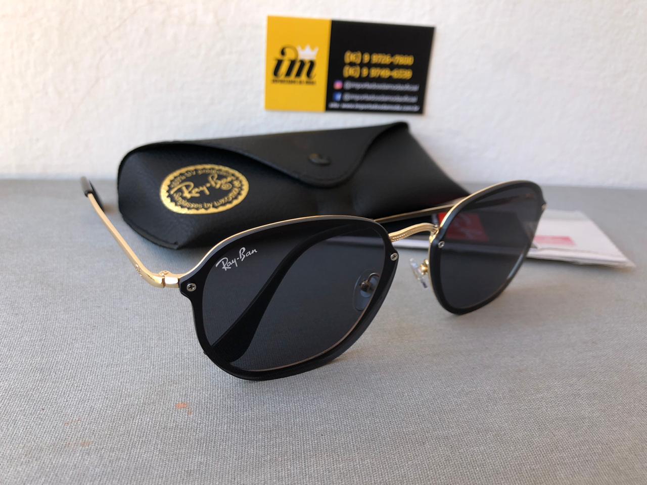Oculos De Sol Ray Ban Hexagonal Blaze Rb3579 Unissex