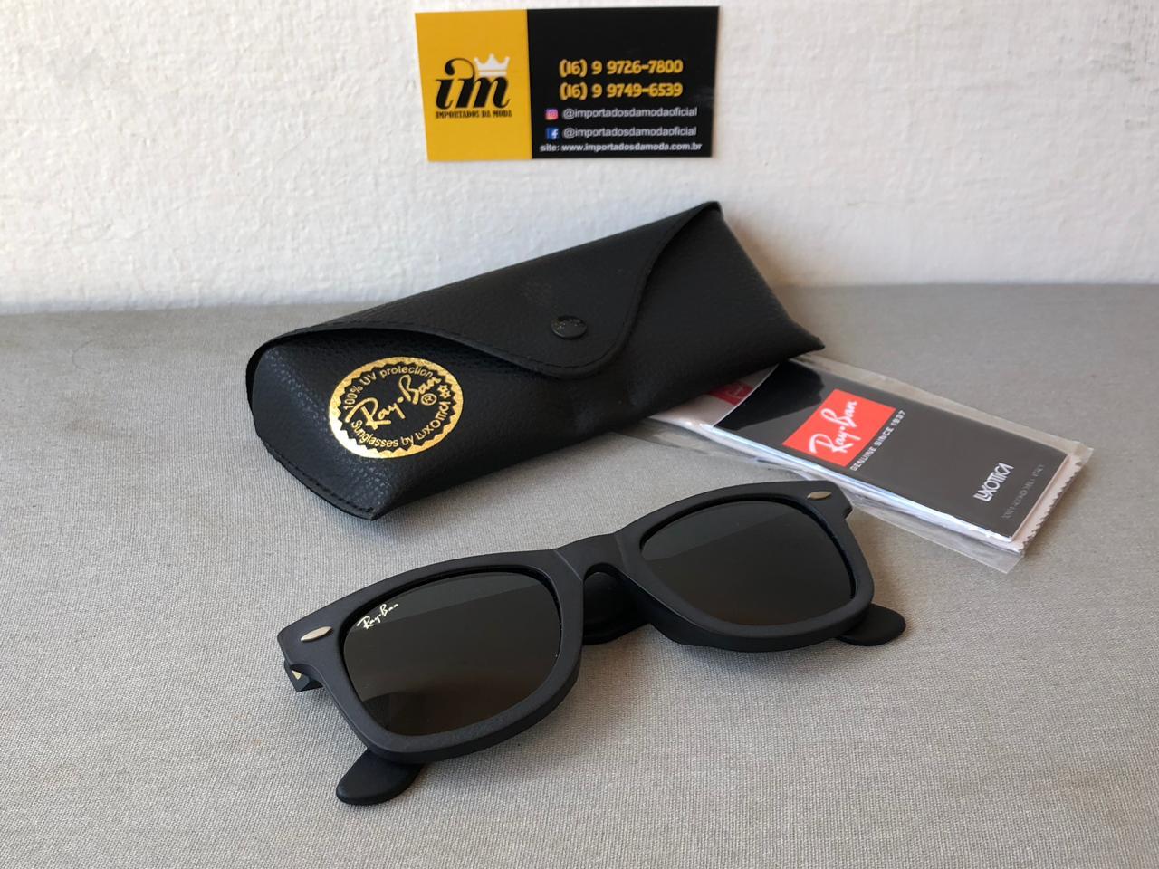 a5d24eb273ecb Óculos de Sol Ray-ban Rb2140 Wayfarer