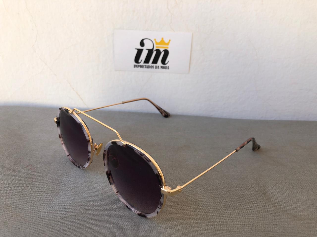 Oculos de Sol Redondo Feminino