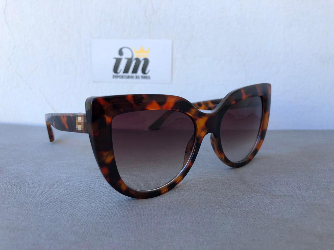 Oculos Sol Feminino Gatinho Tartaruga Degrade