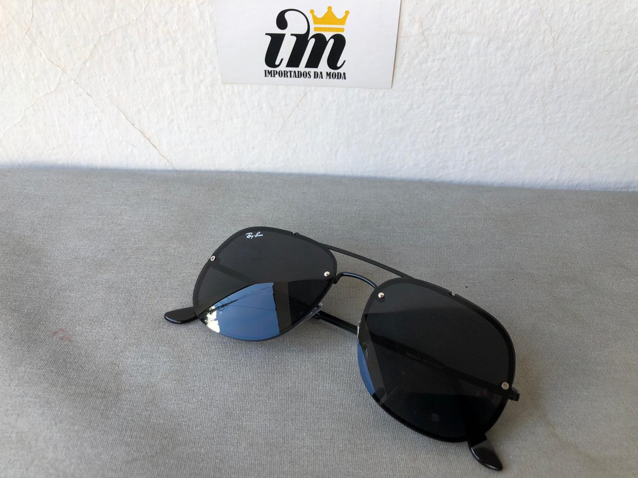Oculos Sol General Blaze Preto Replica Primeira Linha