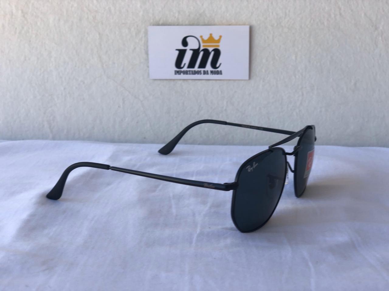 Oculos Sol RB Marshal Preto Replica Primeira Linha