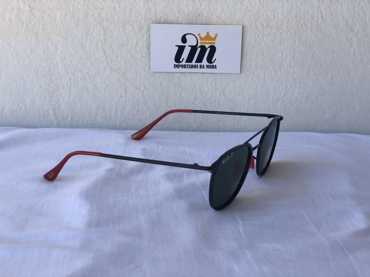 Oculos Sol RB Scuderia Ferrari Preto Replica 3601