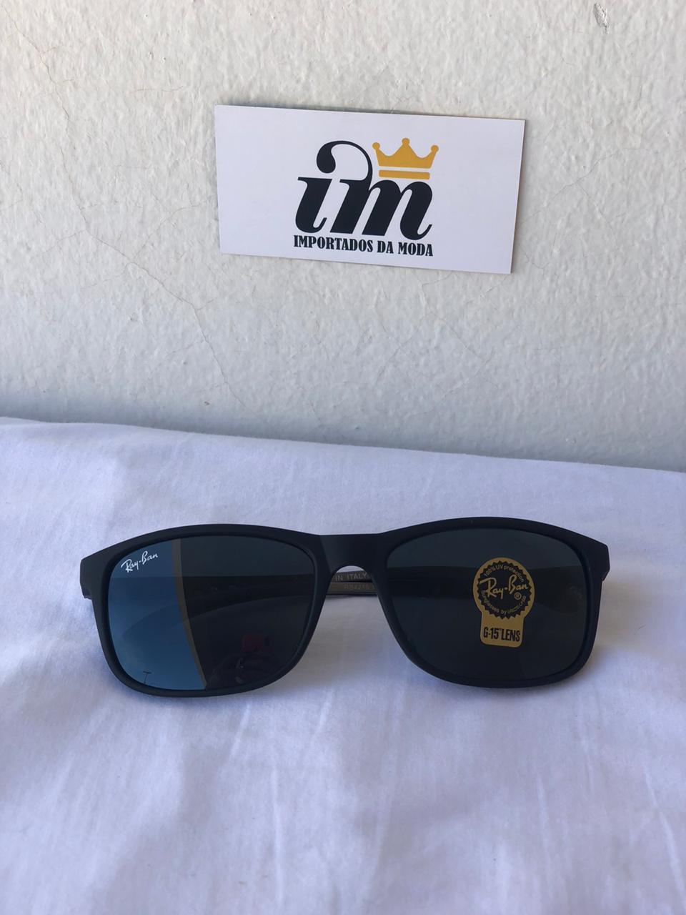 Oculos Sol Unissex RB Liteforce 4215 Preto