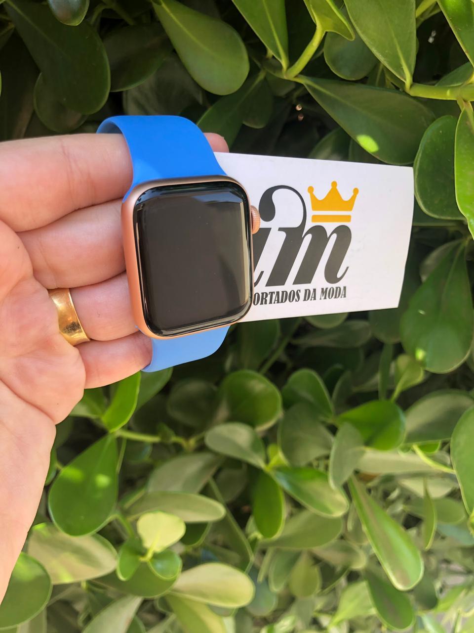 Pulseira Apple Watch 38 mm Esportiva Azul