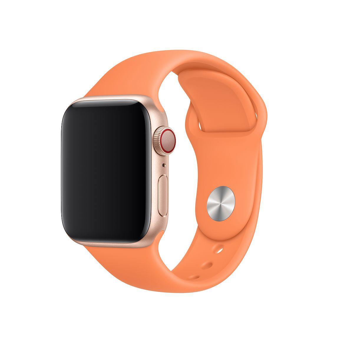 Pulseira Apple Watch 38 mm Esportiva Papaia