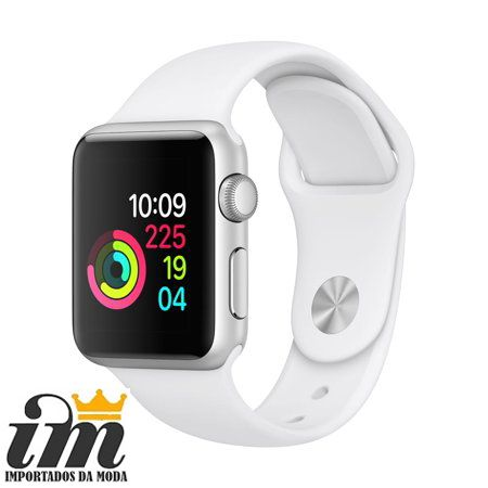 Pulseira Apple Watch 42 mm Esportiva Branco
