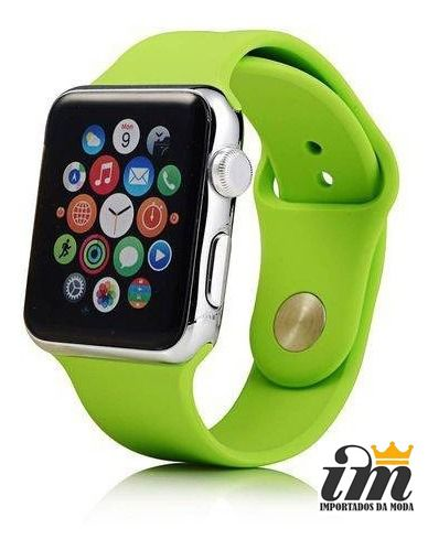 Pulseira Apple Watch 42 mm Esportiva Verde