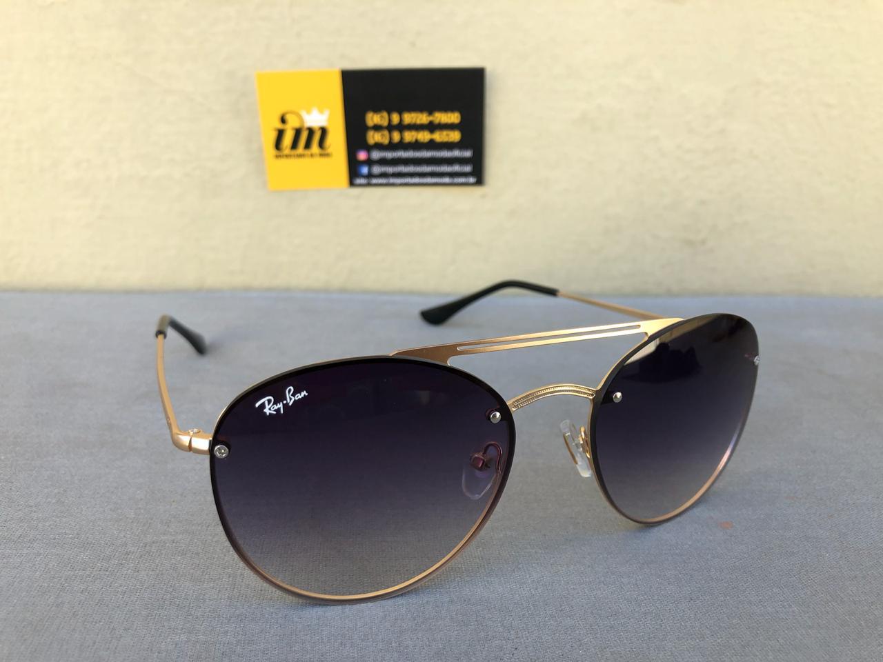 1df727e6d Ray Ban RB3606 Oculos de Sol Replica Primeira Linha