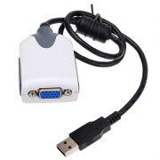 Adaptador Conversor de USB 2,0 para VGA