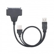 Adaptador Conversor de USB P / Sata Dual P/Case