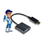 Adaptador Display Port para VGA F-New