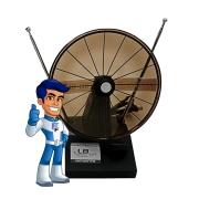Antena VHF/UHF/FM Interna Eagle Star 75 Ohms LB SAT
