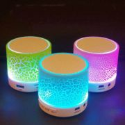 Caixa de Som Bluetooth Cs-a12-bt Com LED Rgb Exbom