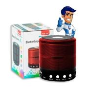 Caixa De Som Bluetooth D-BH 887 Vermelho Grasep