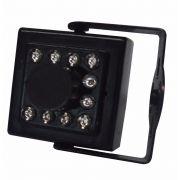 Câmera Showtec Mini Sw-100 500L 10 Leds