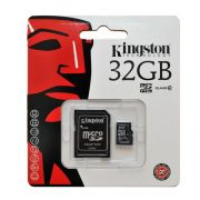 Cartão de memória Kingston MicroSD Card 32GB + Adaptador SDC4/32GB
