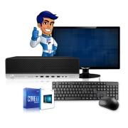 Computador Completo HP Elitedesk G3 Intel I7 8gb HD 500