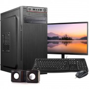 Computador Completo Intel 8GB HD 500GB  Wifi Win10 c/ Monitor