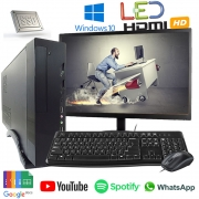Computador Completo Intel Core i3 8gb SSD120GB Monitor Hdmi