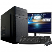 Computador Completo Intel Dual Core 4gb Hd500gb Monitor Hdmi Wifi
