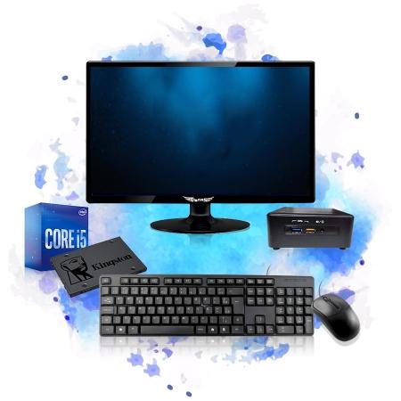 Computador Completo Mini Cpu Nuc Intel Core I5 8GB SSD 240GB