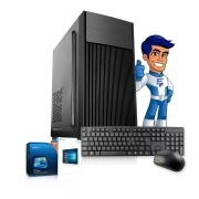 Computador Cpu Intel Core 2 Duo 4gb HD 500gb Teclado Mouse