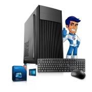 Computador Cpu Intel Dual Core 4gb HD 500gb Teclado Mouse