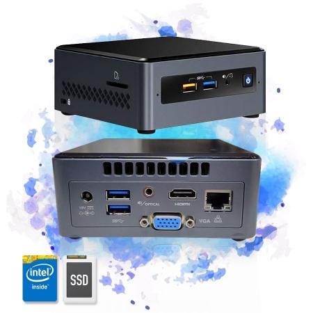 Computador Mini Cpu Nuc Celeron 8GB SSD 240GB HDMI Wifi