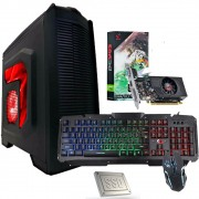 Cpu Completa Pc Gamer I5 8gb Ssd 120gb Hd500 Placa De Video