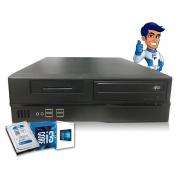 Cpu Computador Slim Intel Core i3 4GB HD 500gb Semi Novo