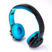 Fone de Ouvido Bluetooth p/ Celular HF 420BT Azul