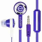 Fone de Ouvido c/ Microfone Exbom EF-220MV