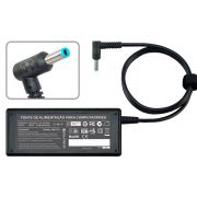 Fonte P/ Notebook Hp Plug Azul MaisMania ( D19.5V 3.33A ) 65W